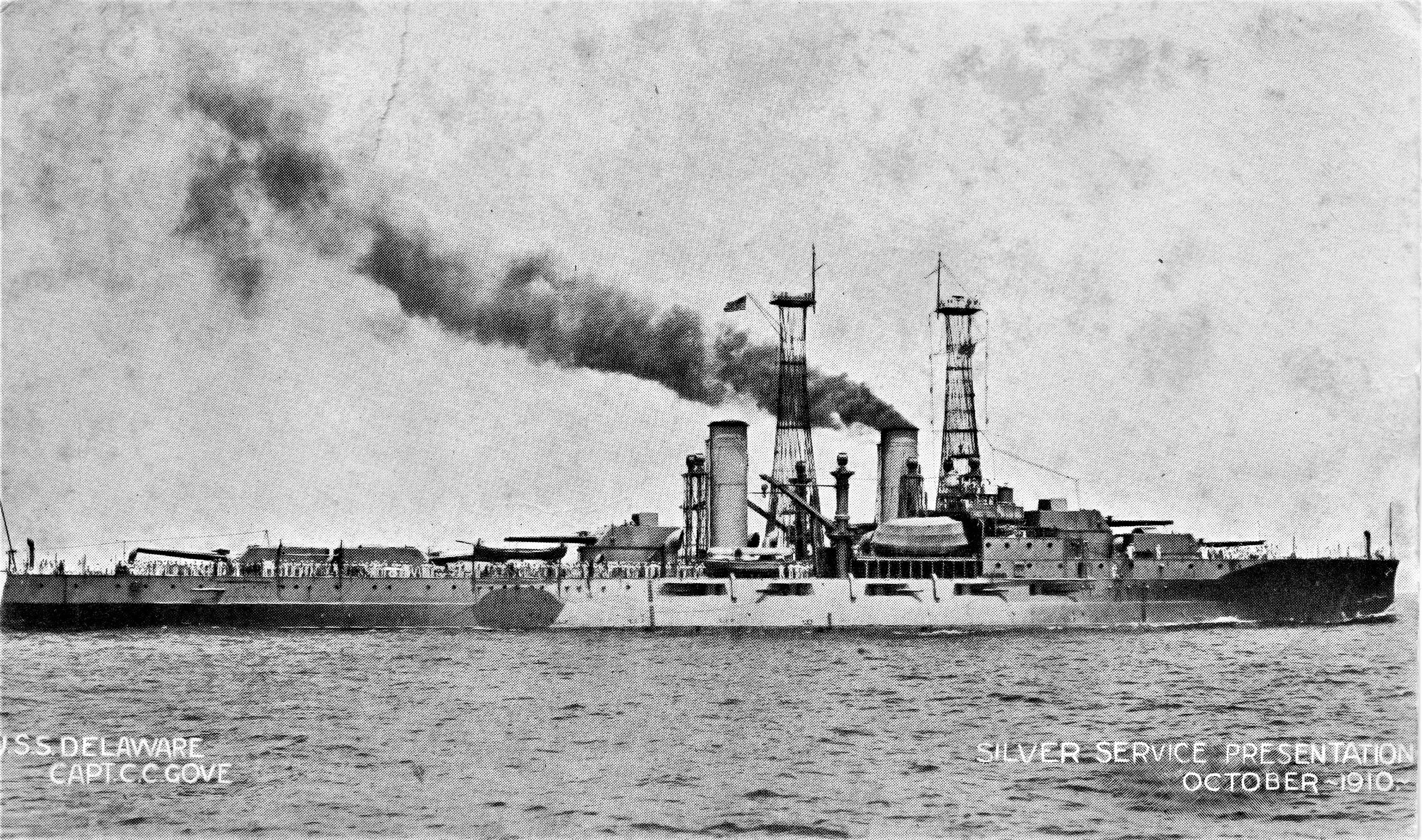 The USS Delaware