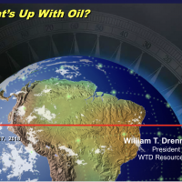 May 17, 2018 William Drennen - What's up with Oil?